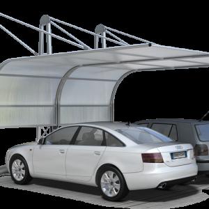 Struttura per copertura per auto