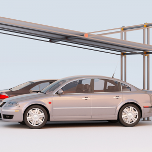Arredo urbano copertura auto