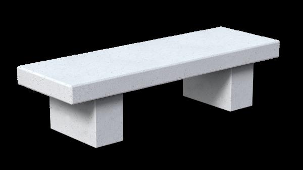 panca in cemento