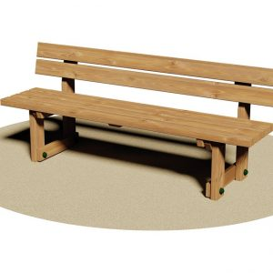 panca in legno