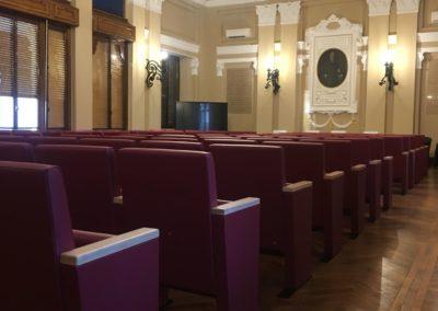 sedie per sala conferenze