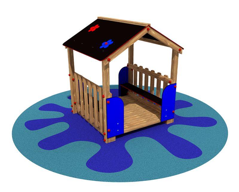 Casetta per bambini in legno modello Family | PRIMULA ...