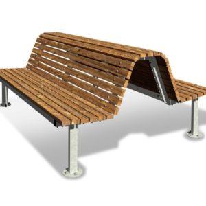 panca comfort seduta doppia