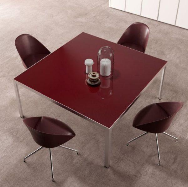 yhpe tavolo riunione quadrato